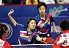 图文-世乒赛女子双打决赛王楠大赛经验丰富