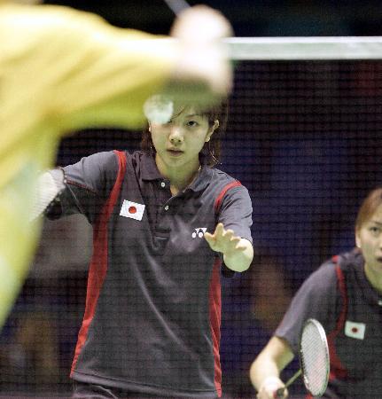 图文-第九届苏迪曼杯羽球赛开赛日本大胜乌克兰