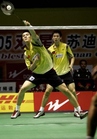 图文-苏迪曼杯中国5-0香港蔡�S/付海峰力克对手