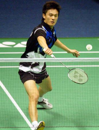 图文-苏迪曼杯小组赛香港吴蔚战胜瑞典文贝里