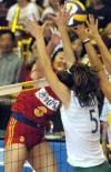 图文-大奖赛总决赛中国女排轻取巴西杨昊大力扣球