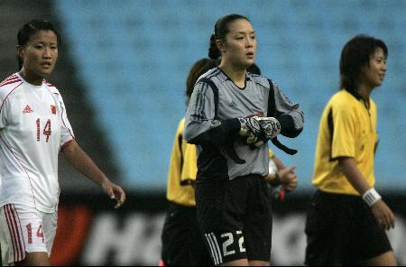图文-中国女足垫底东亚四强为什么现在赢球这么难?