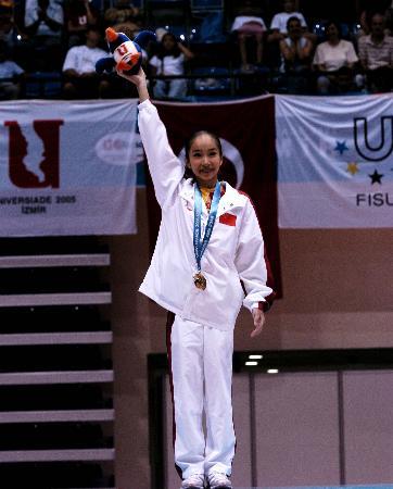 图文-世界大运会范晔力压群芳体操个人全能夺冠