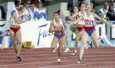 图文-俄罗斯女子4X400米接力夺金选手奔跑强劲有力