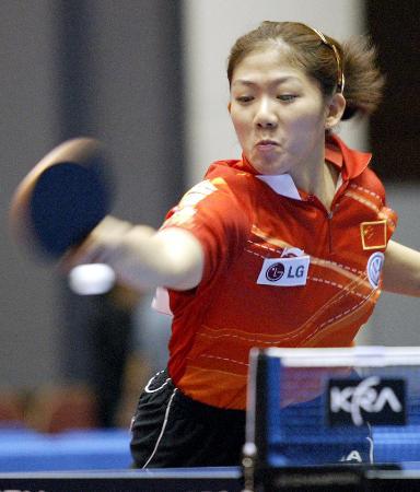 亚乒赛中国女单覆没牛剑锋已尽全力