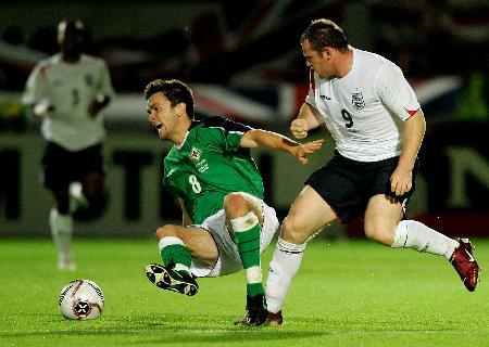 足球――世界杯预选赛 英格兰负北爱尔兰 5