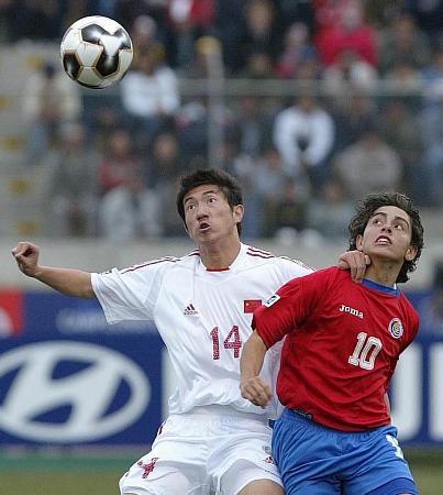图文-[世少赛]中国1-1哥队杜龙泉争顶惟我独尊