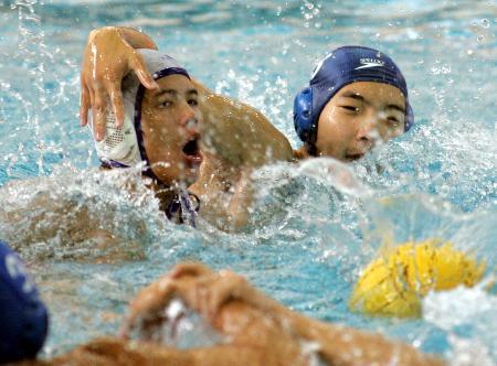 图文-十运会男子水球比赛四川队战胜北京队
