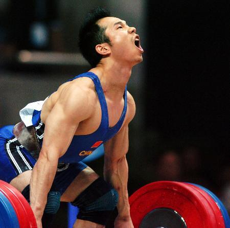 图文-名将乐茂盛与奖牌擦肩而过老将拼尽全力