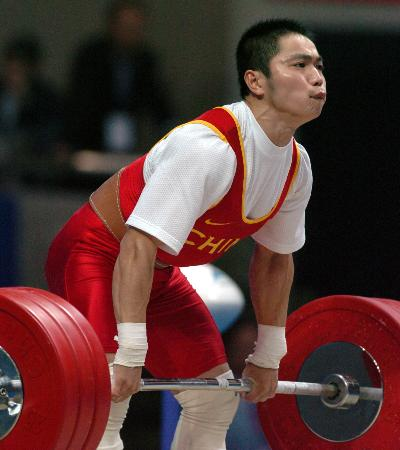 图文-十运举重广西丘乐折桂四川选手张平夺得银牌