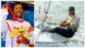 图文-十运帆船比赛全部金牌产生广东队选手唐吉涛