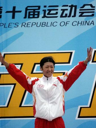 图文-十运现代五项女子个人决赛河南修秀夺冠