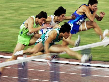 图文-十运会十大名将上海选手刘翔久经沙场