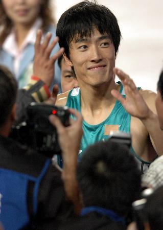 图文-十运会十大关键词刘翔毫无悬念夺得冠军