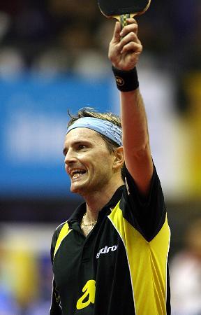 ...举行的2005年国际乒联职业巡回赛总决赛男单比赛中,以4比0战