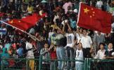 图文-八国赛国青大胜进决赛旅居华人成坚强后盾