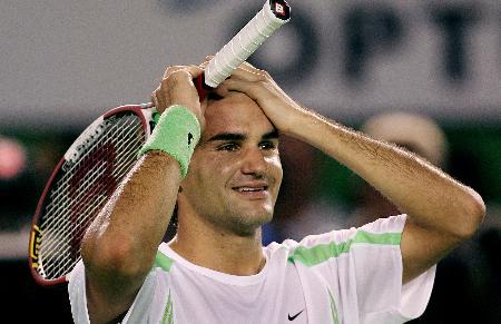 图文-费德勒勇夺澳网男单冠军胜利意料中也惊喜