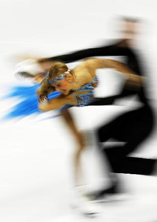 图文-花滑冰舞创编舞多姿多彩冰上最美的印象