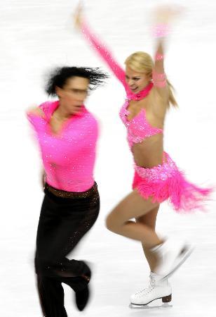 图文-花滑冰舞创编舞多姿多彩我的眼中只有你