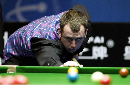 图文-斯诺克中国公开赛决赛赛况威廉姆斯稳健细腻