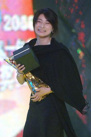 图文-06中国十佳劳伦斯冠军奖郭晶晶雍容华贵