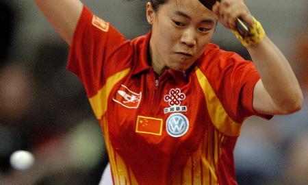 图文-世乒赛决赛中国胜中国香港王楠击败柳絮飞