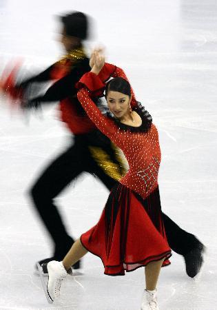 图文:(体育)(3)花样滑冰�D�D中国花样滑冰精英赛在京落幕