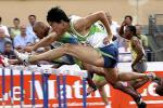 图文-刘翔打破110米栏世界纪录跨越历史