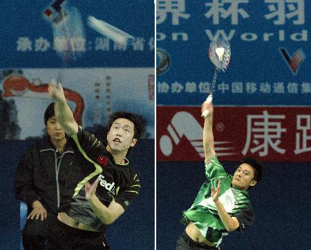 图文-羽毛球世界杯次日陈郁战胜中国香港选手