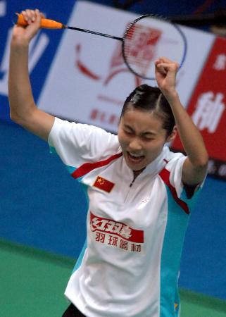 图文-羽毛球世界杯中国队勇夺3金王仪涵女单封后