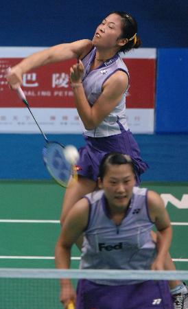 图文-羽毛球世界杯中国队勇夺3金高��黄穗女双夺冠