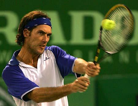 图文-上海喜力网球赛爆冷门维纳尔击退卫冕冠军