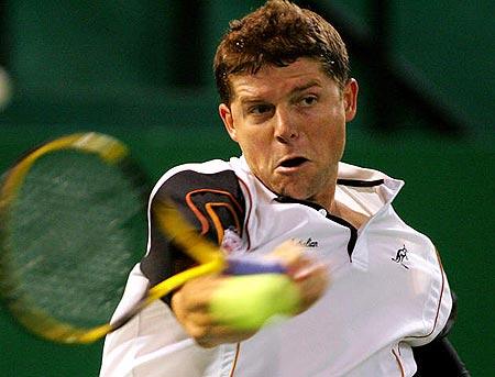 图文-上海网球公开赛四强产生诺瓦克毫不手软