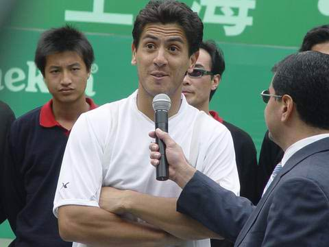 图文-上海喜力赛卡纳斯夺冠卡纳斯发表感言