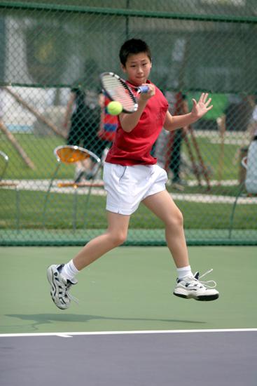 少儿网球_