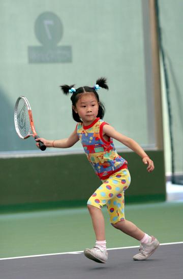 少儿网球_少儿网球培训_企业相册_三维通信股份有限公