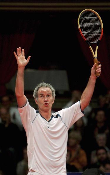 网球元老赛伦敦激战麦肯罗善于作秀