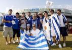 图文-澳网压轴大戏男单决赛球迷支持巴格达蒂斯