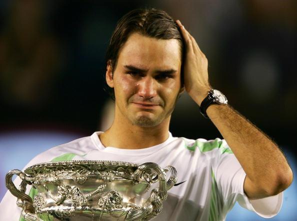 图文-澳网压轴大戏费德勒夺冠费天王情绪激动