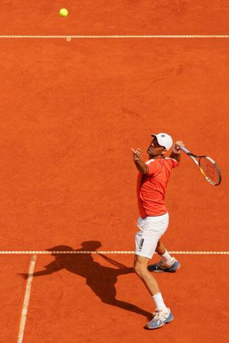 图文-ATP汉堡大师赛16日战况赫尔南德兹闯关成功