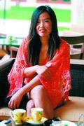 春光灿烂姹紫嫣红女人花怒放亚龙湾红峡谷球场