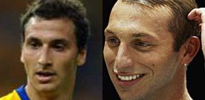 世界杯五大模仿秀:阿德酷似飞人两个皮尔洛(图)