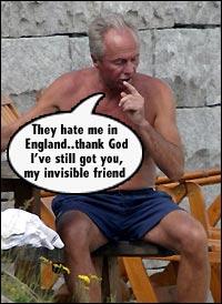 """""""英格兰人恨我。感谢上帝,我还有你这位看不见的朋友。"""""""
