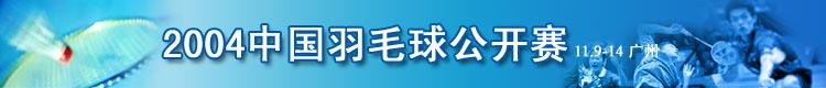 2004年中国羽毛球公开赛