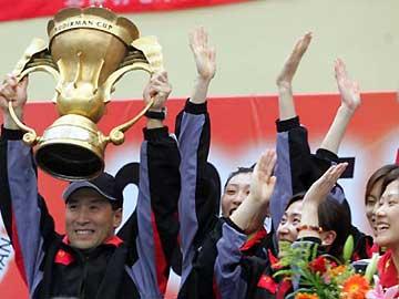 汤尤杯苏杯三杯在握--中国羽球队辉煌伟绩回顾