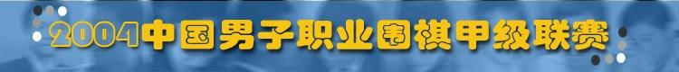 2004年中国男子职业围棋甲级联赛