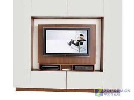 小戶型最佳選擇 平板電視墻竟可旋轉