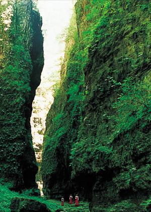 河北保定旅游景点_图文:河北保定旅游景点--野三坡