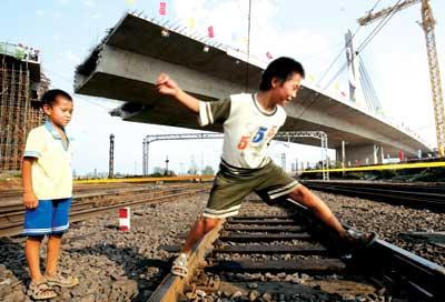 北京五环马_北京首座转体斜拉桥建成 五环路全线贯通(组图)