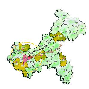重庆主城行政地图2018